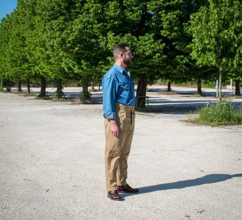pantalon taille haute casatlantic
