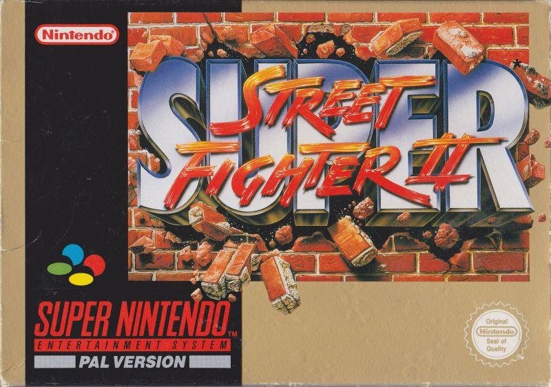 jaquette du jeu vidéo super street fighter 2 sur super nintendo