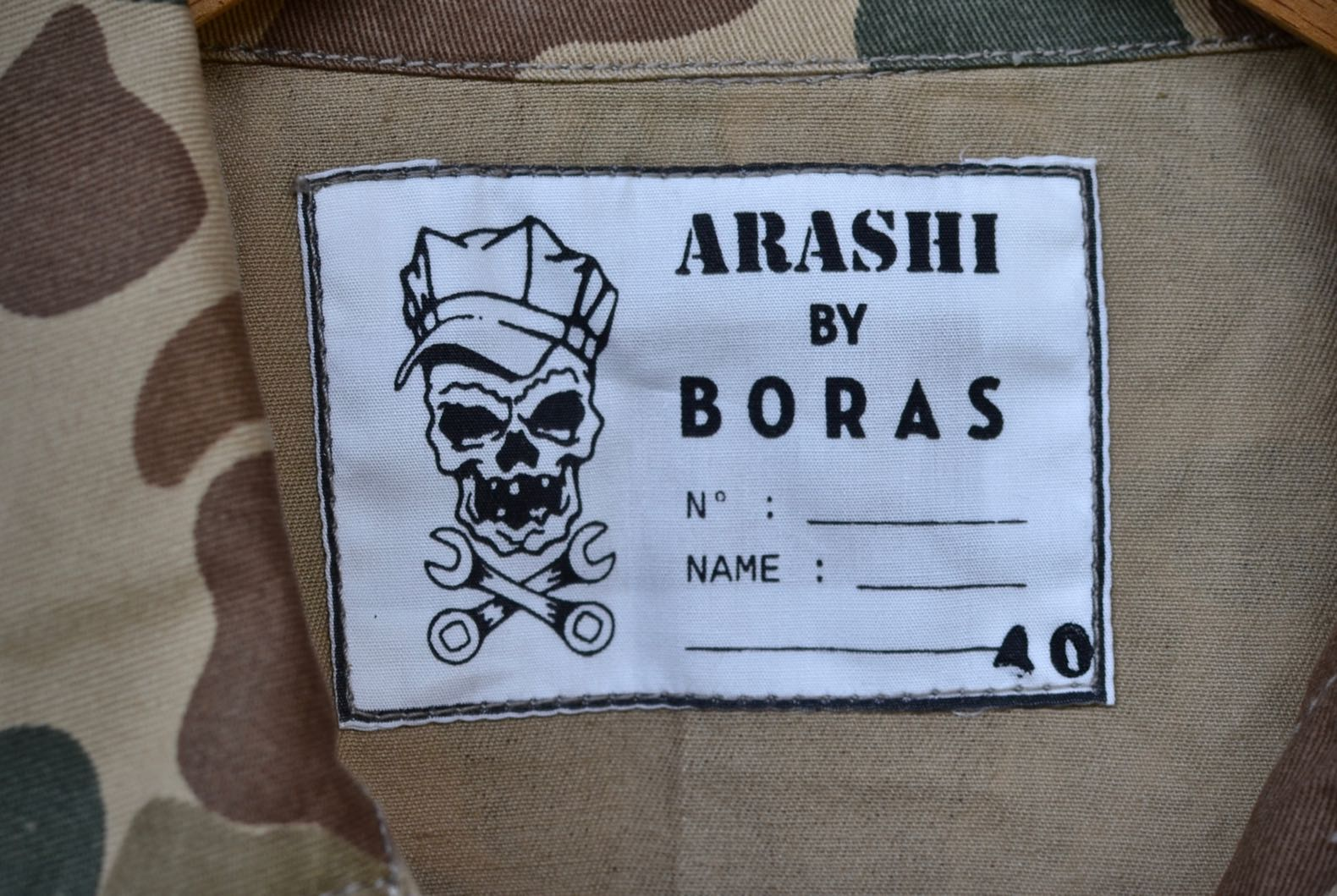 arashi by boras étiquette
