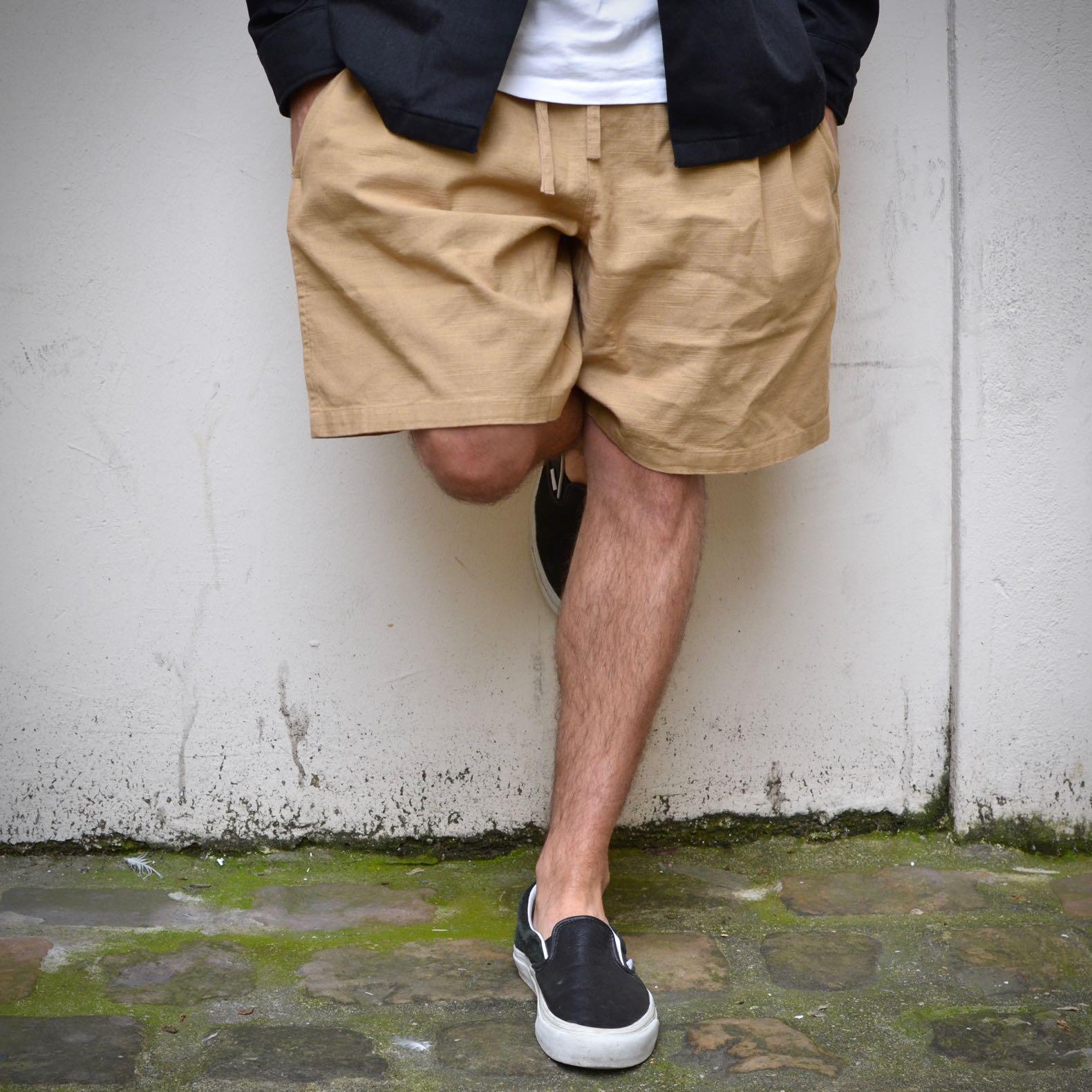 shorts thinking mu henry camel