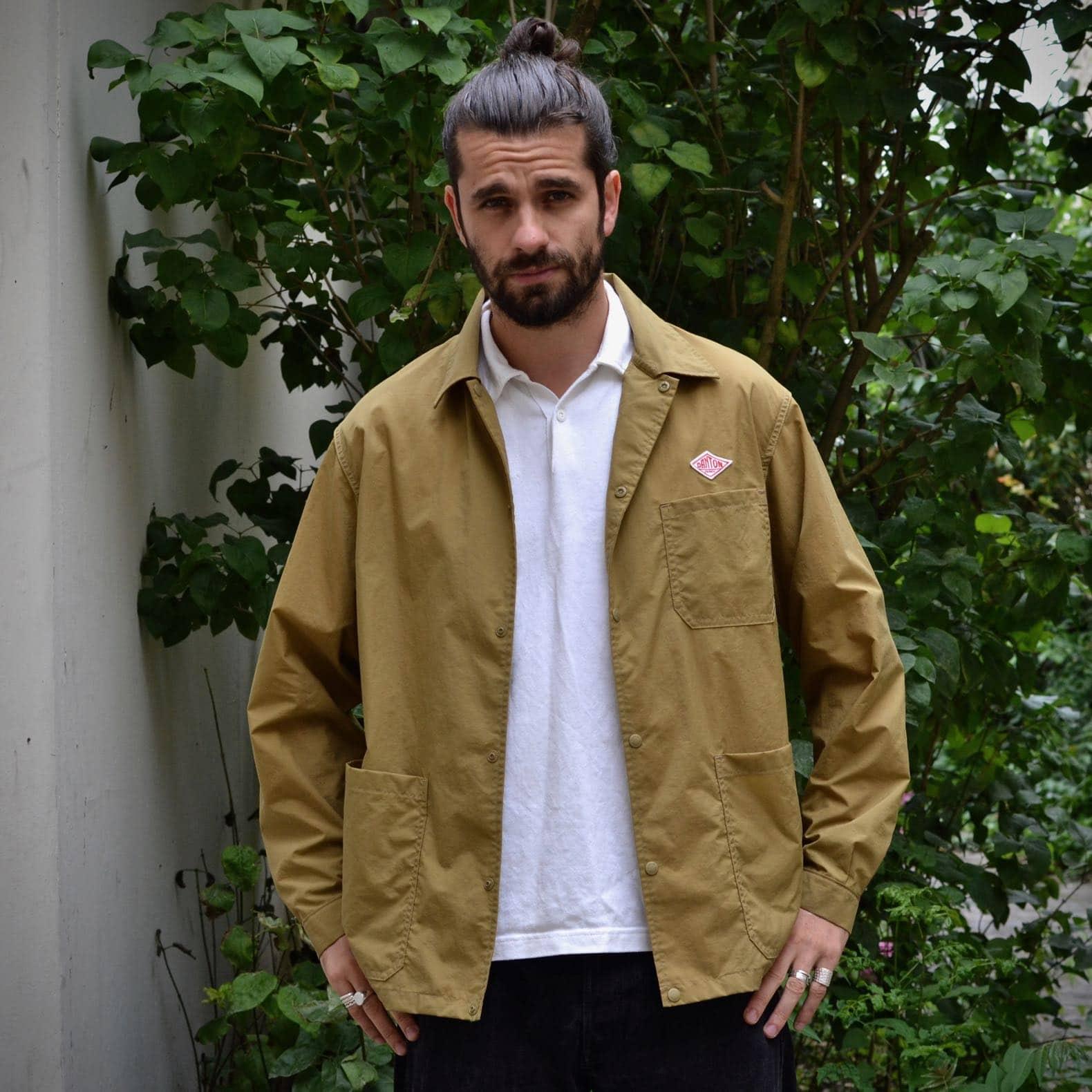 danton work jacket polo uniqlo engineered garments
