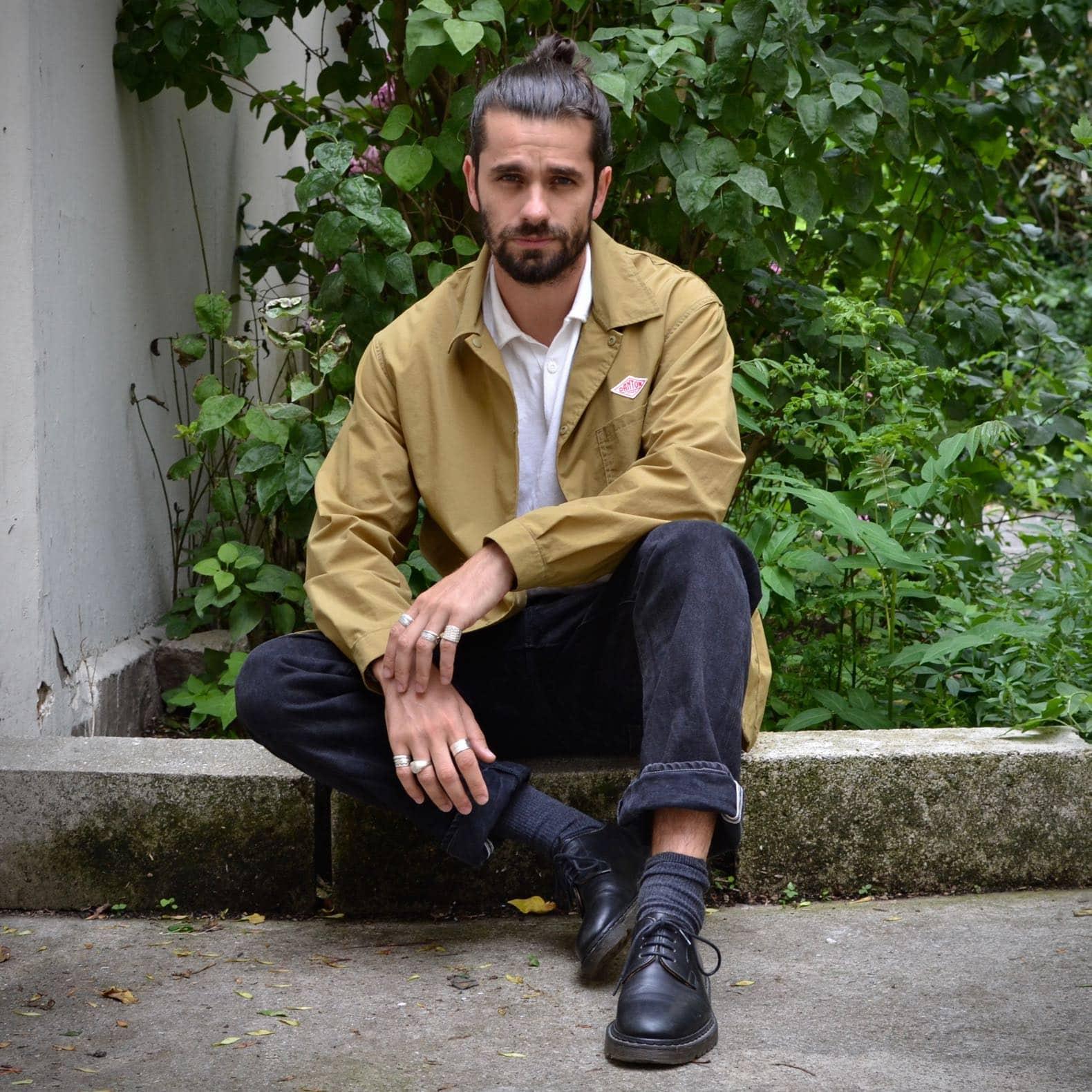 boras conseil style look homme jean noir