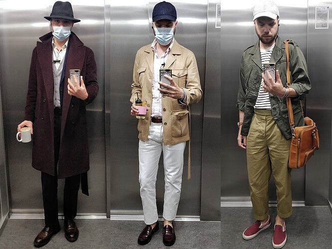 look homme csual chic heritage