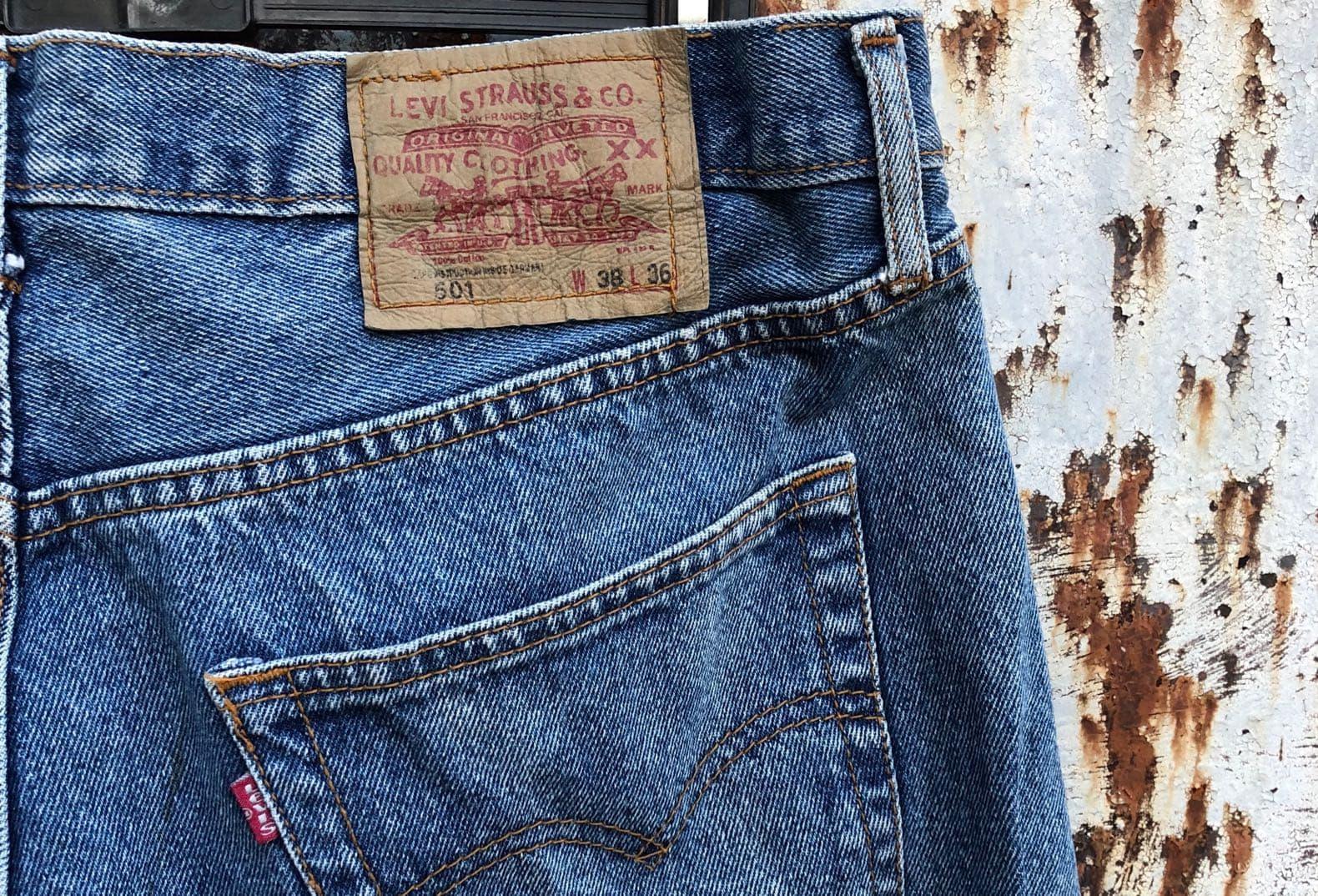 levis jeans 501 vintage