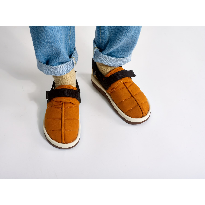 reebok beatnik orange sandales