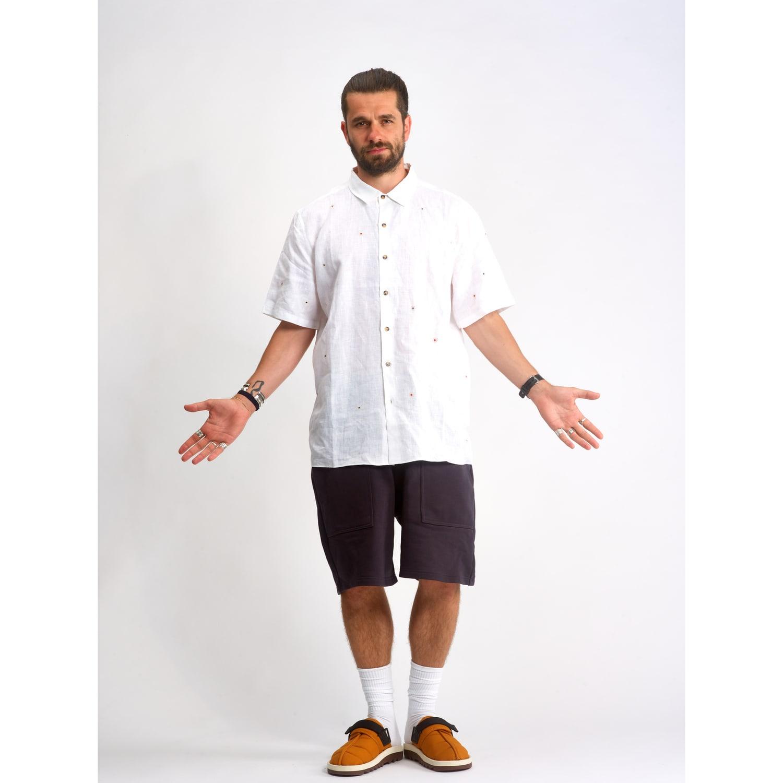look homme chemise oversized jbj