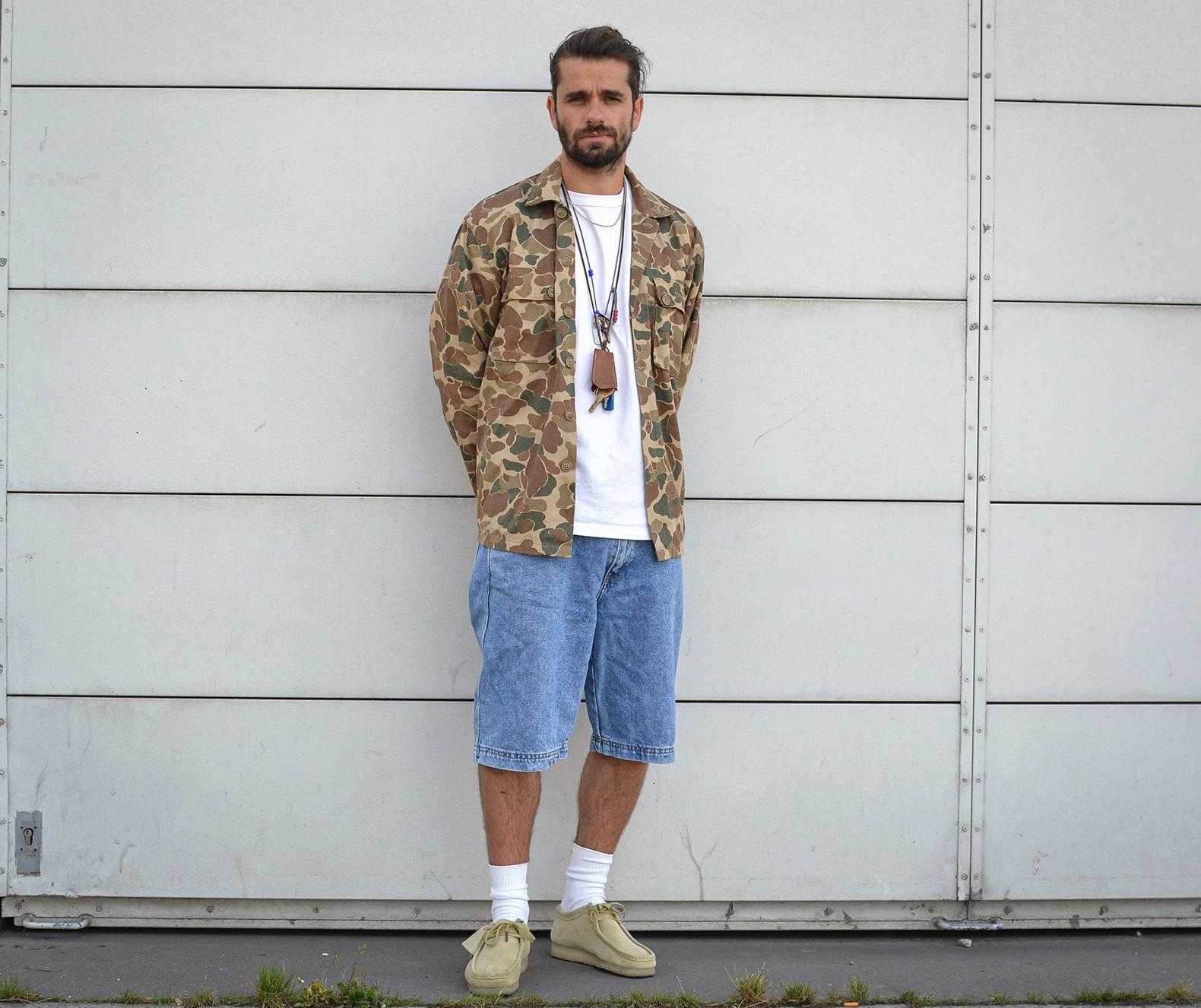 look homme streetwear années 90