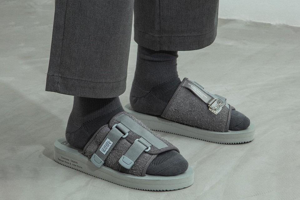 suicoke sandales grises