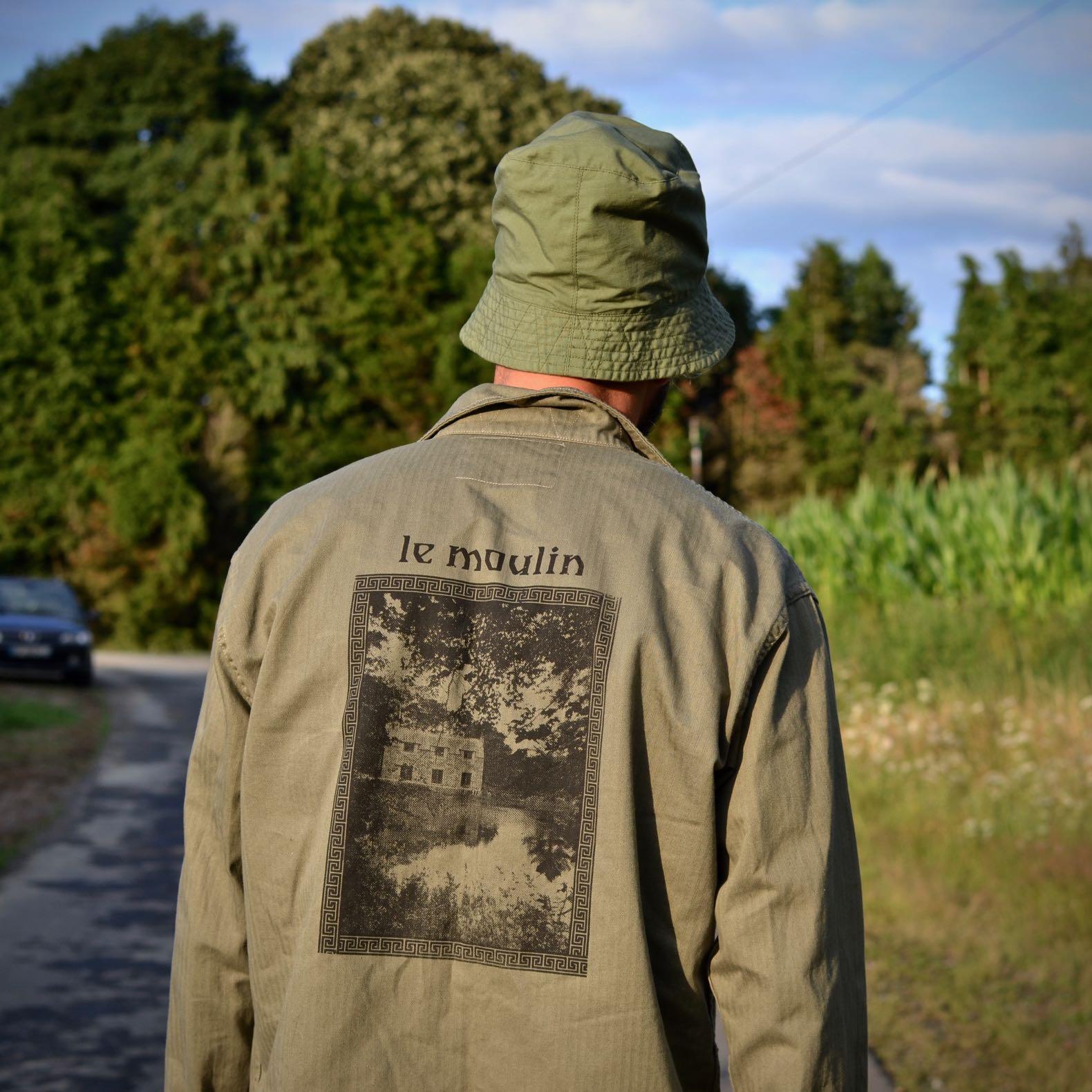 chemise militaire sérigraphie