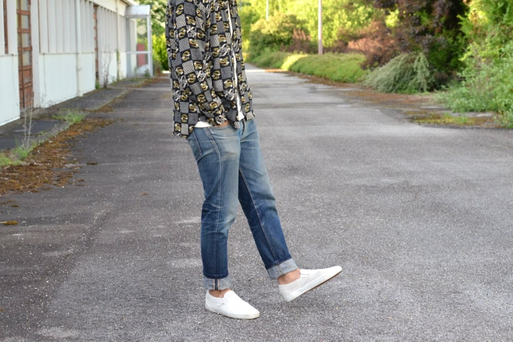 dry bones chemise et jean apc