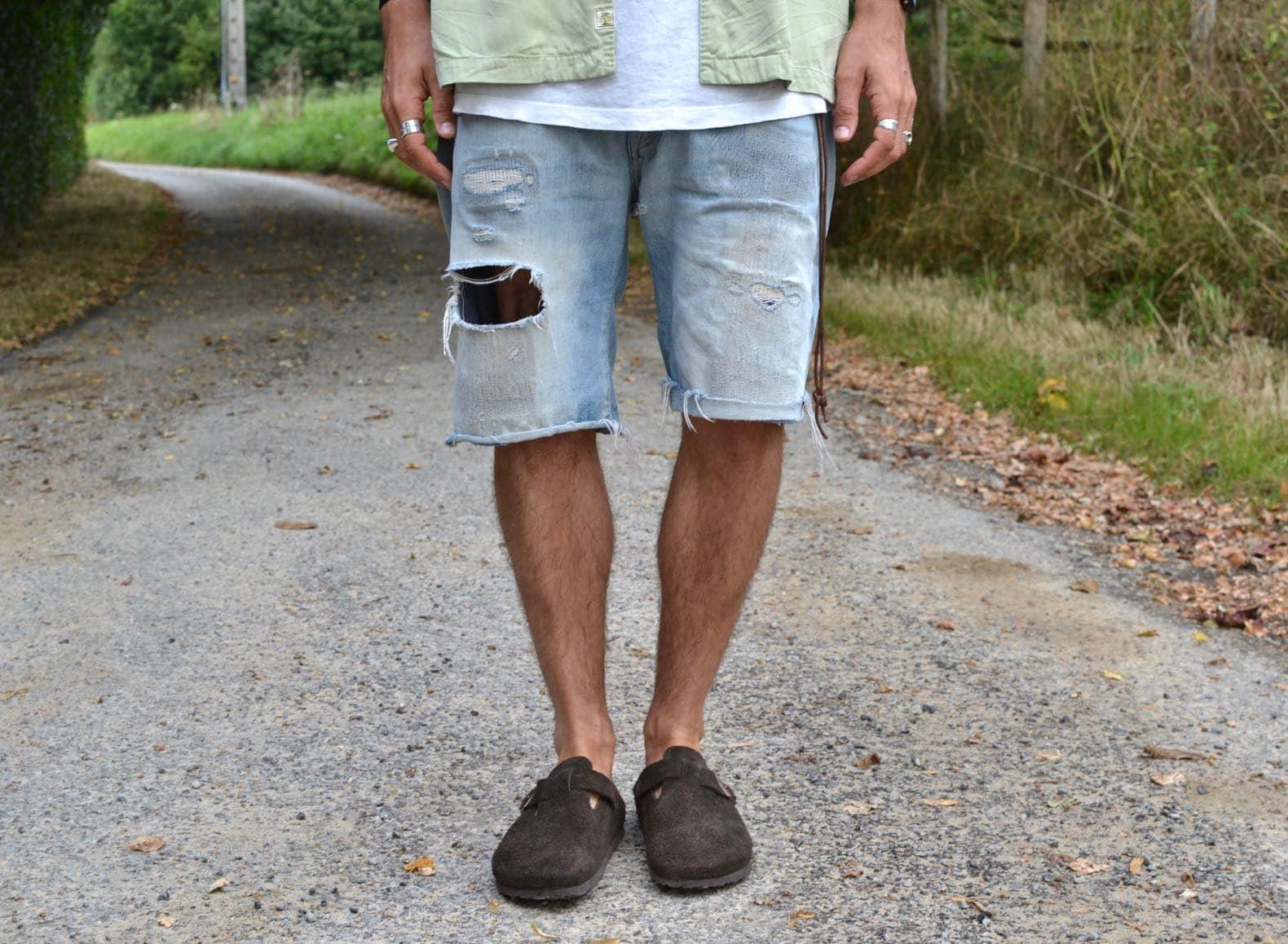 short en jean levis 501