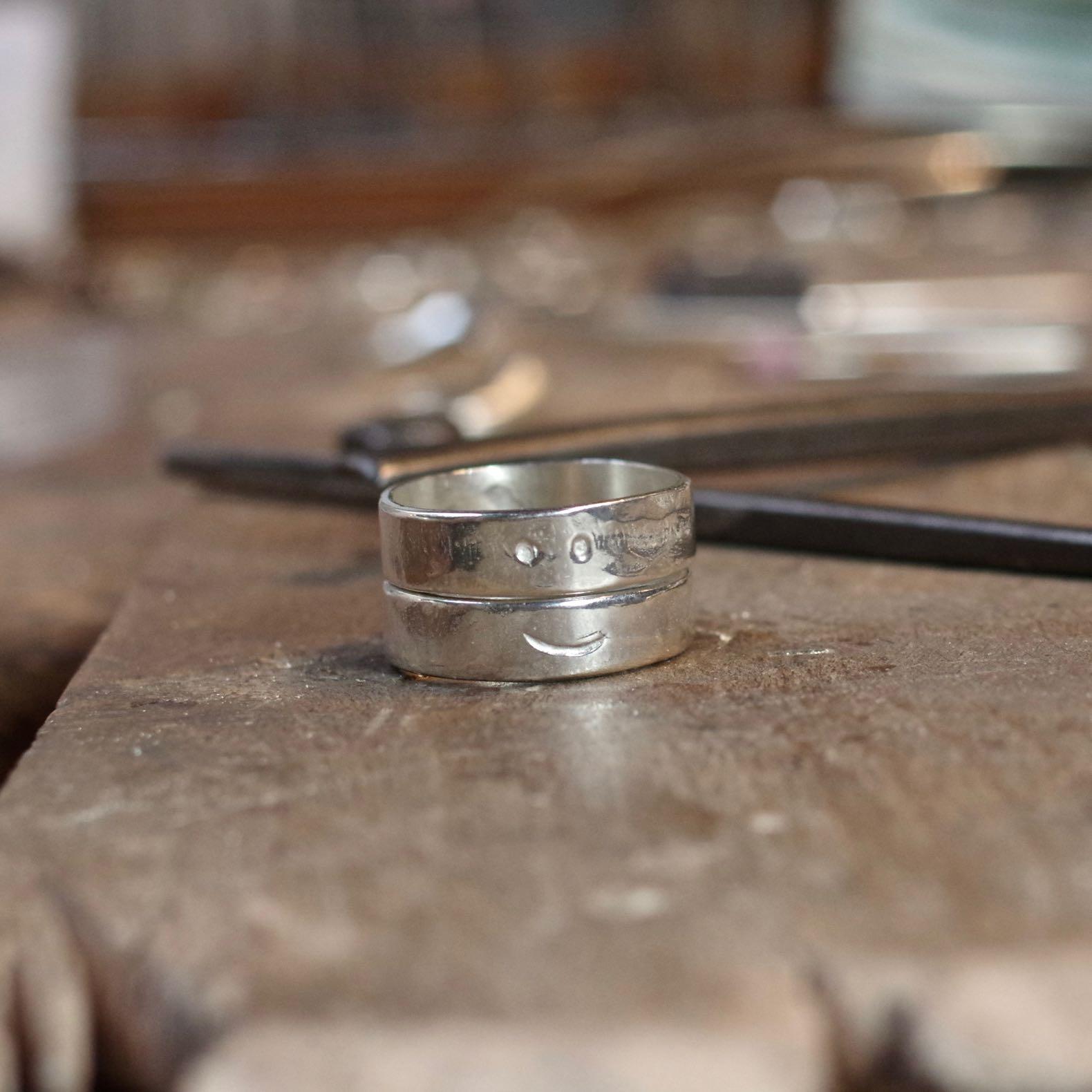 anneaux en argent homme gilbert gilbert by boras