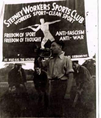 Stepney Workers Club bannière