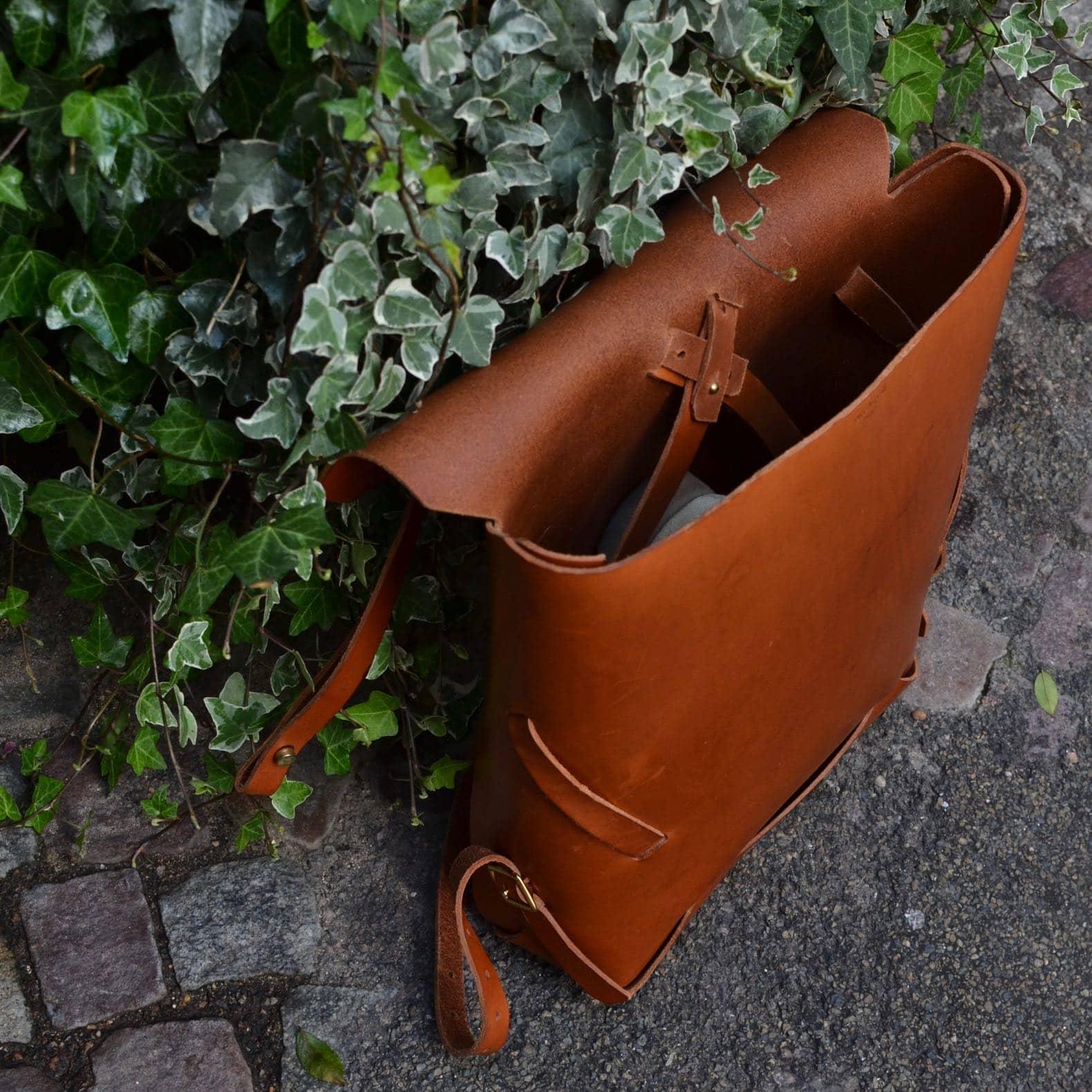 archipel paris sac à dos cuir
