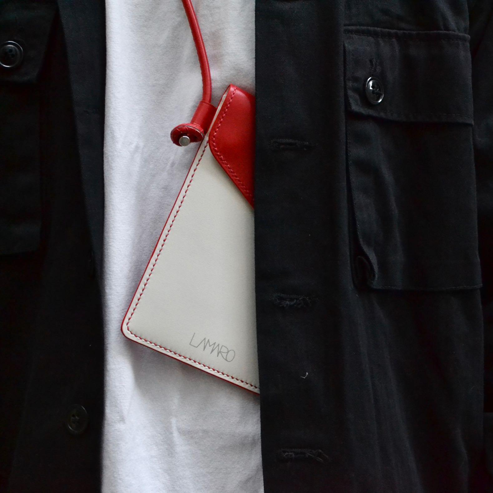 porter couleur rouge noire