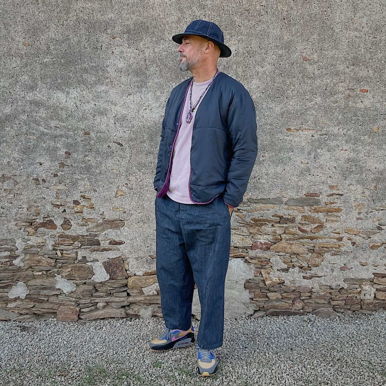 look-homme-fleece-comfy-outdoor-garments-pantalon-oversize-anglan-shop 2