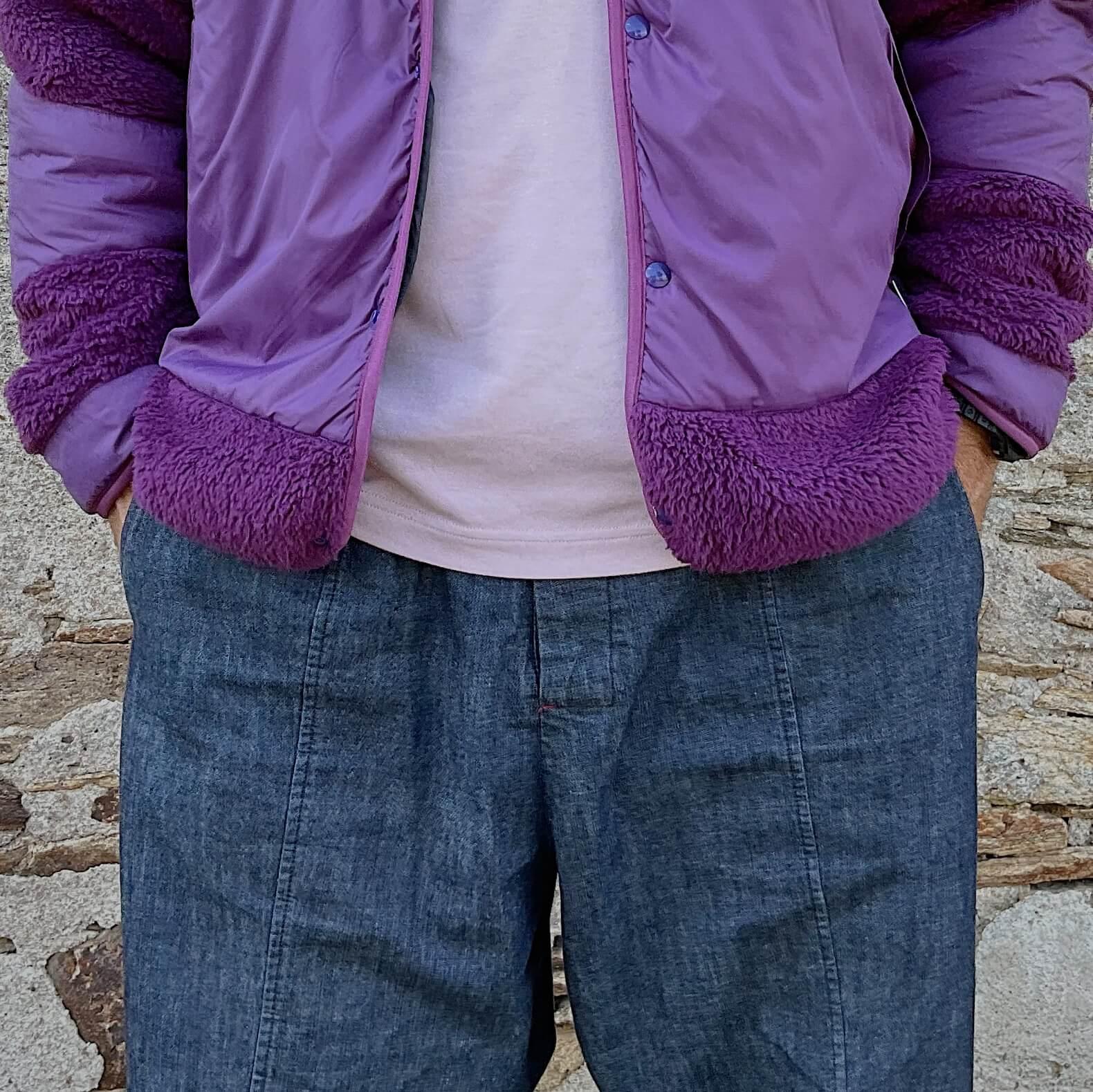 tenue avec une polaire dit fleece