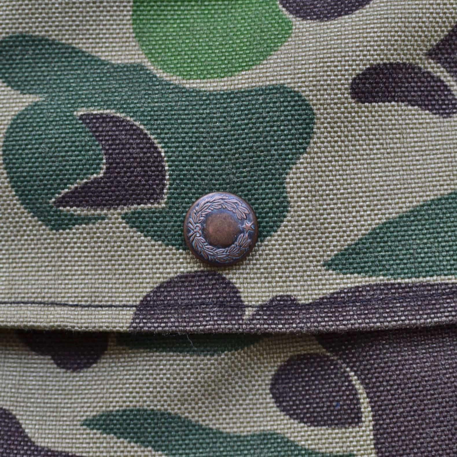 boutton hunting vest filson vintage