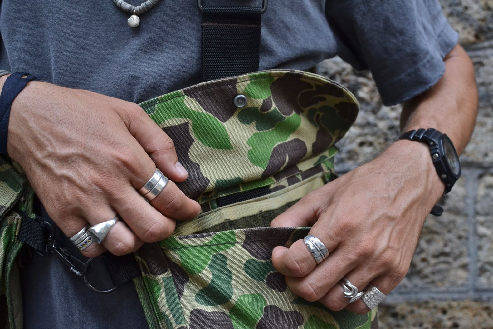 poche filson hunting vest