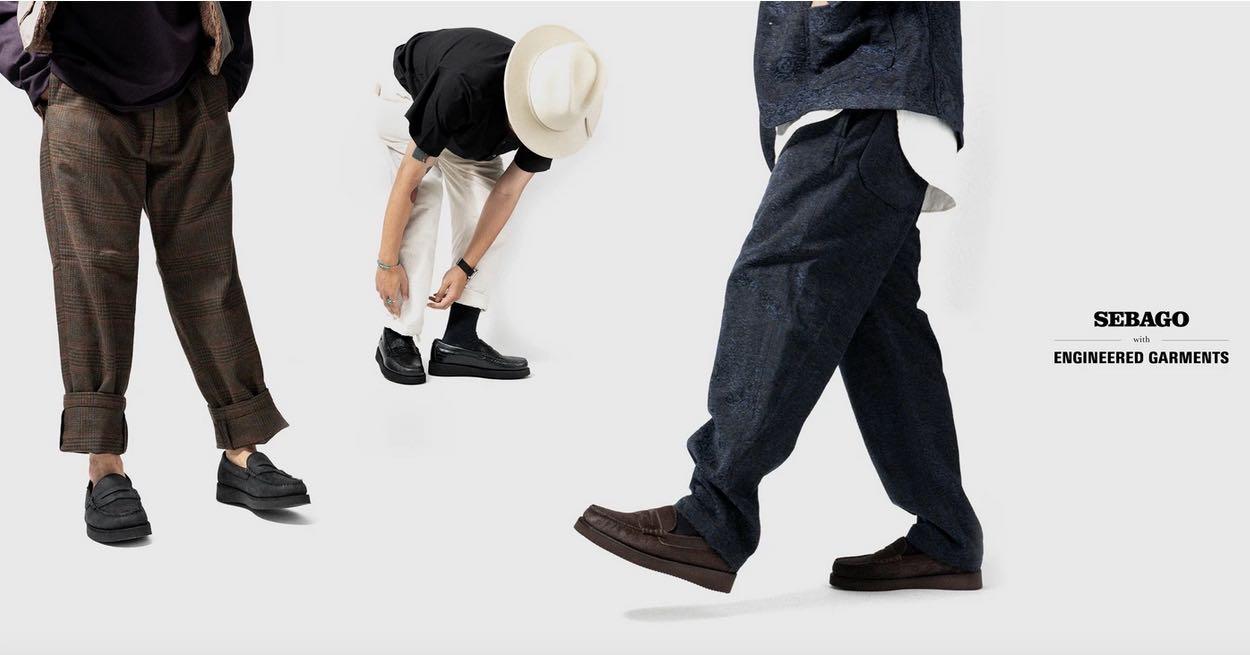 sebago enginnered gamrents lookbook loafers