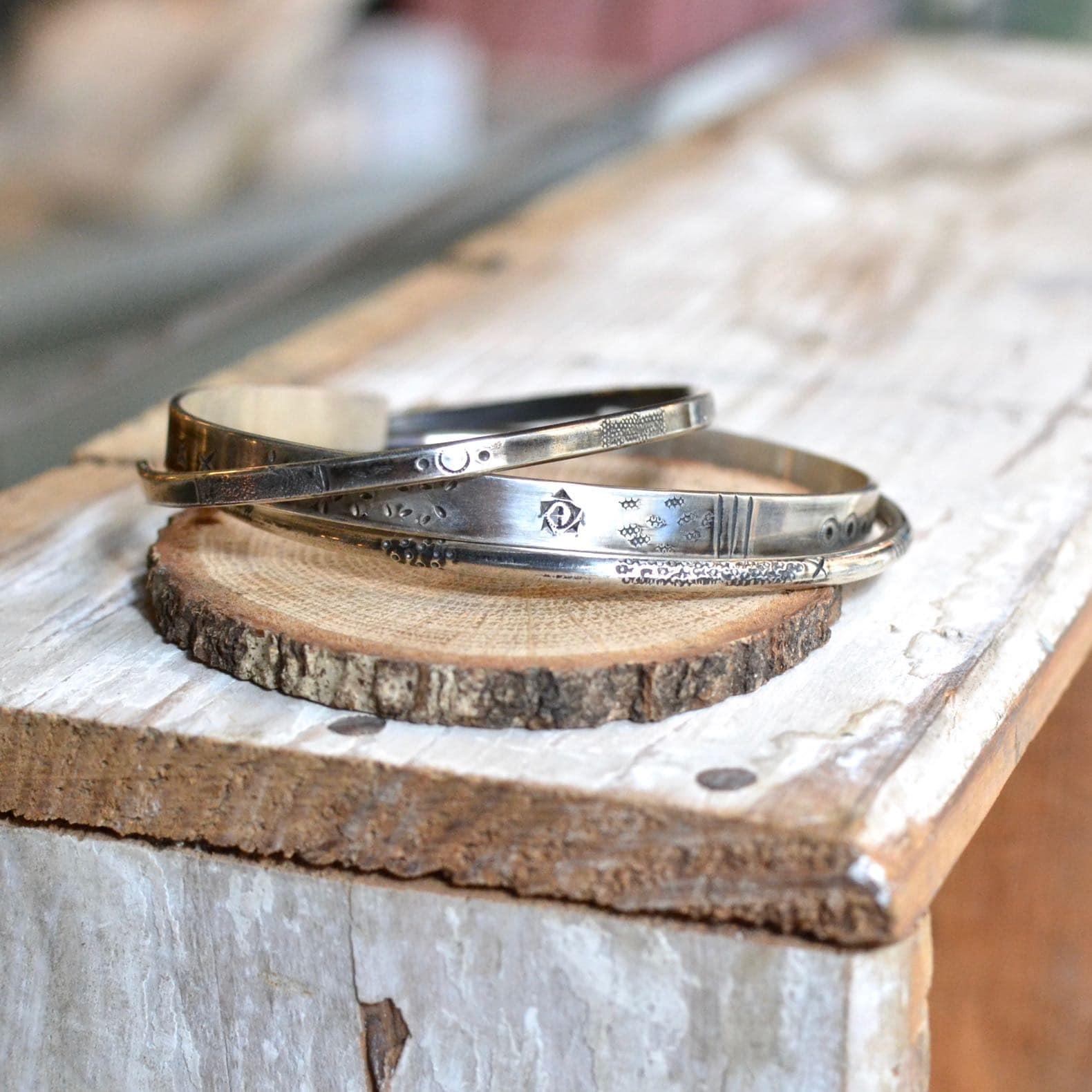 bracelet en argent gilbert gilbert