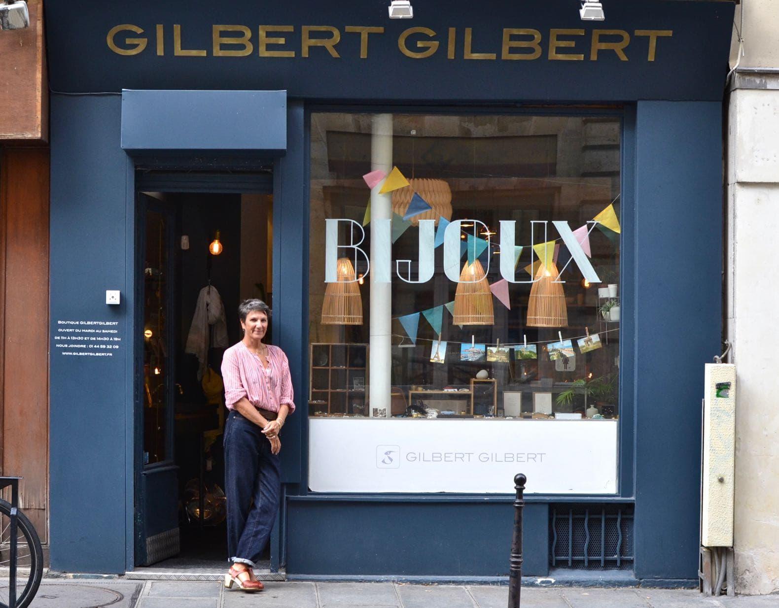 devanture boutique gilbert gilbert