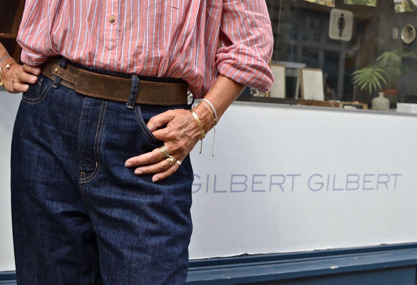 sylvie fondatrice de la marque gilbert gilbert