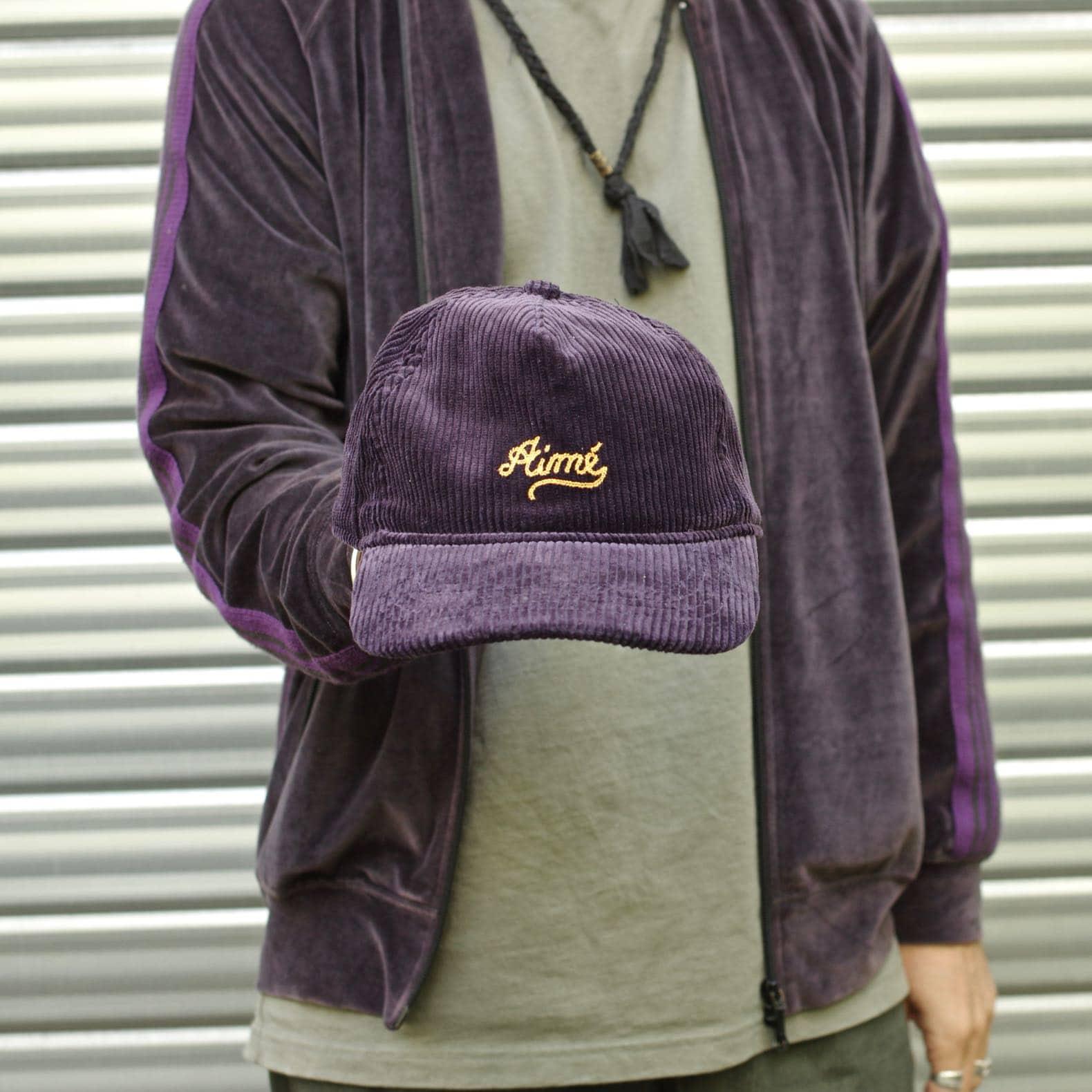 aimé leon dore corduroy purple