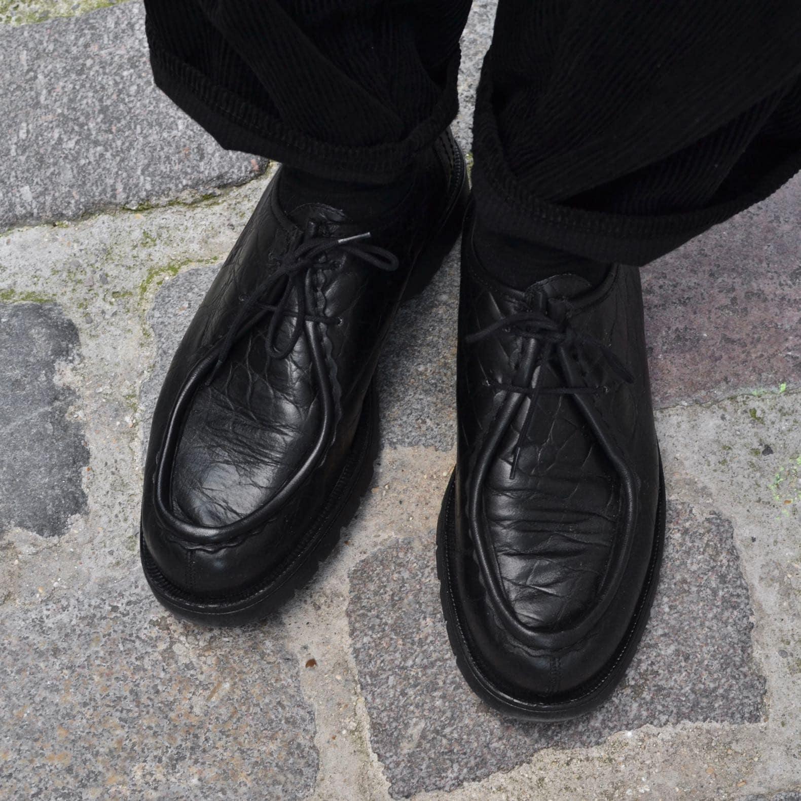 chaussures kleman crocodile