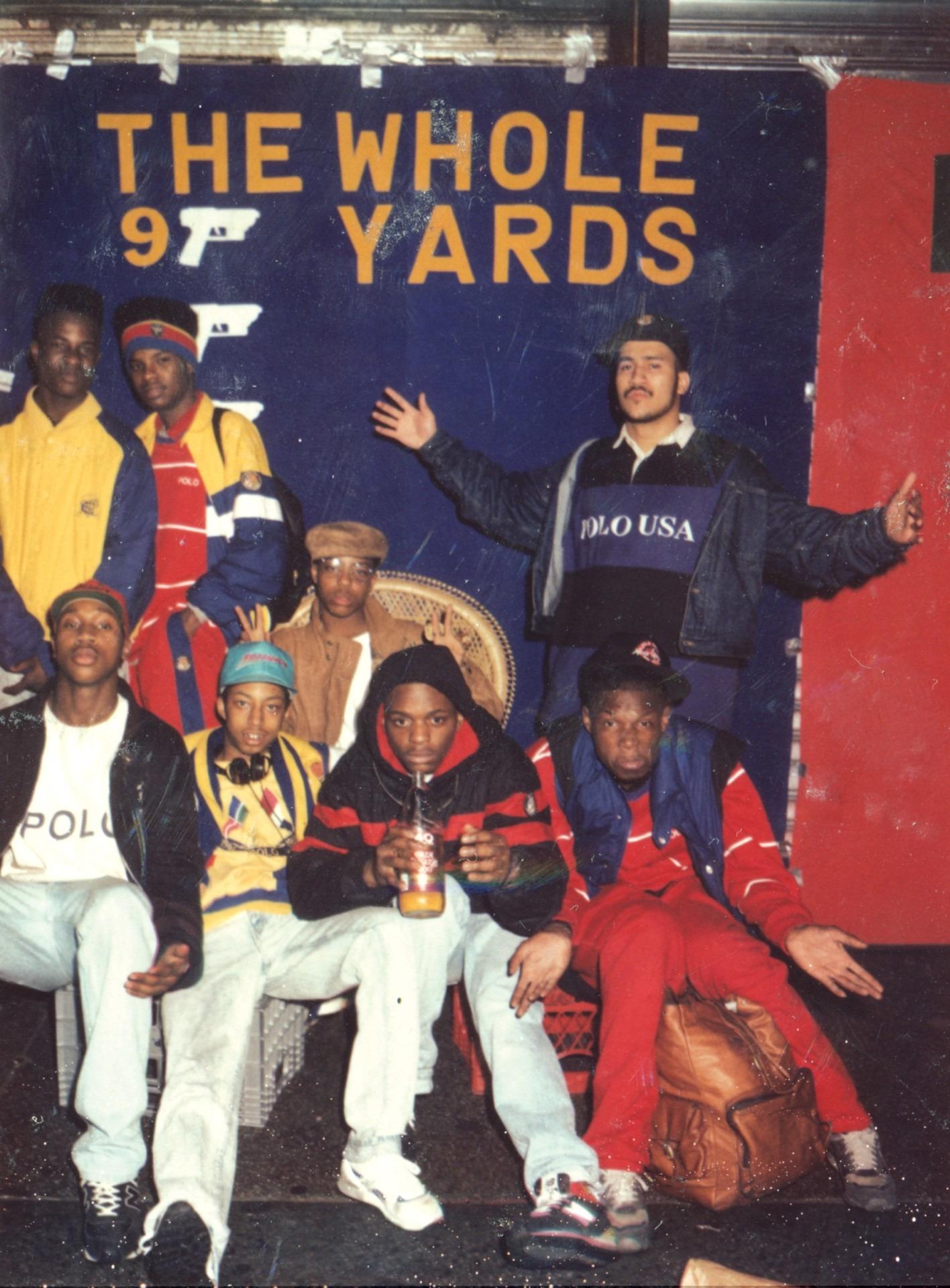 Lo-Life Hip-Hop Ralph Lauren OG Crew 1988
