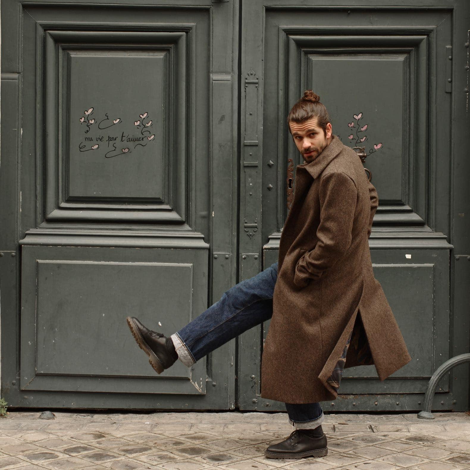 manteau en laine pour homme atelier loden