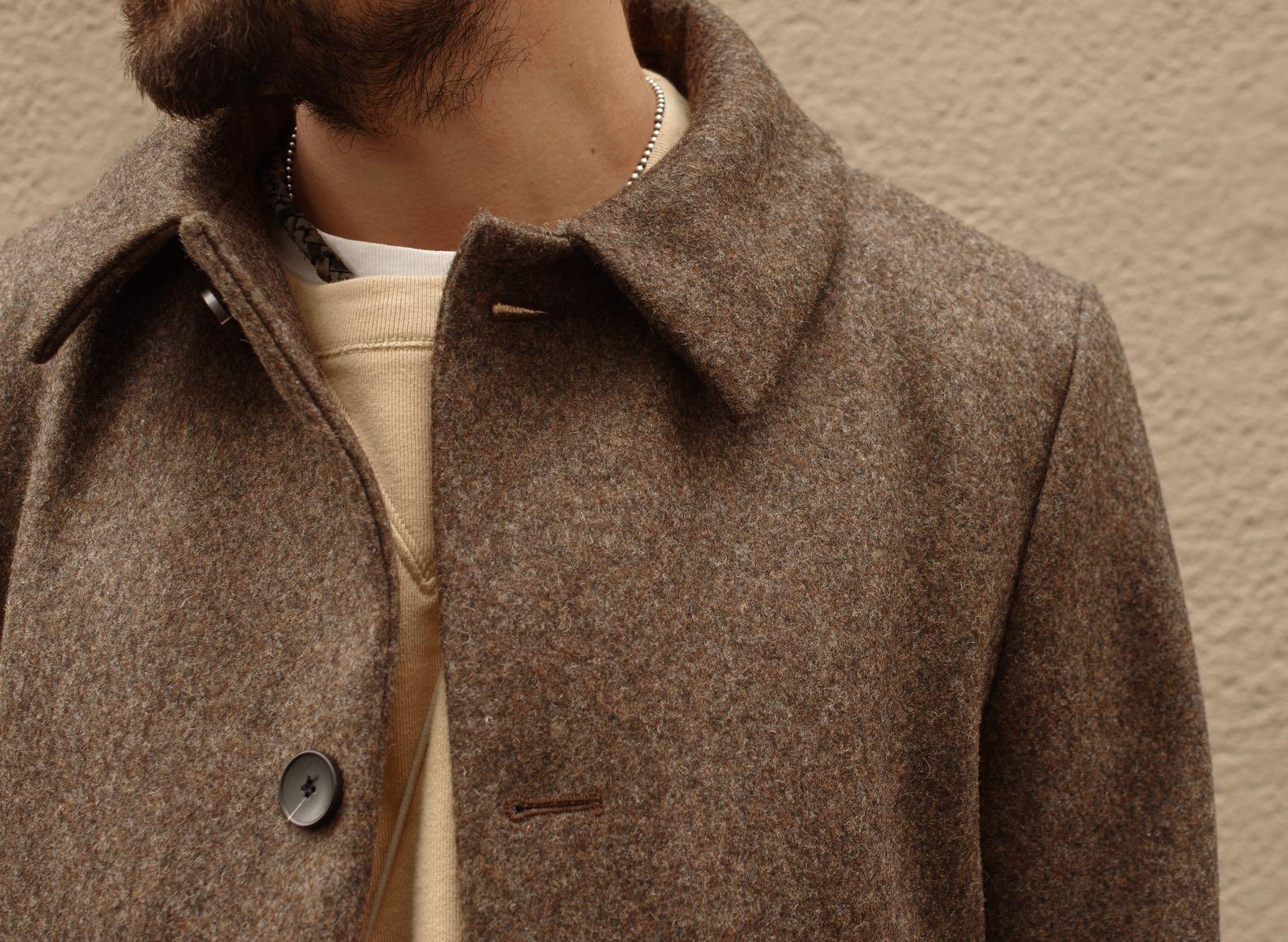 atelier loden manteau laine