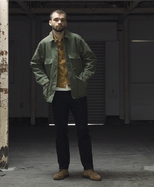 Jungle jacket ripstop olive A Vontade